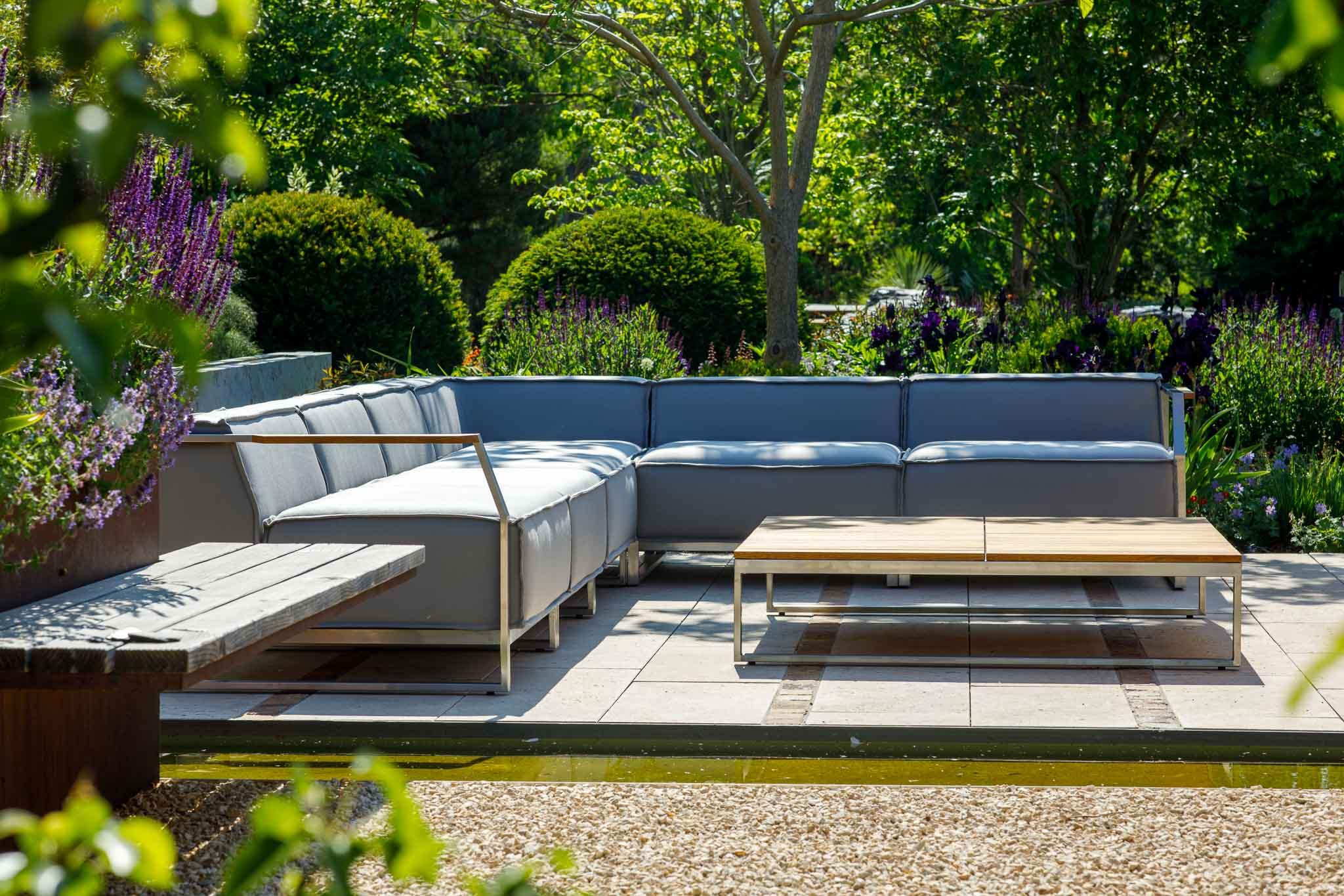 Lounge-Tisch Vesuri, Quadrat